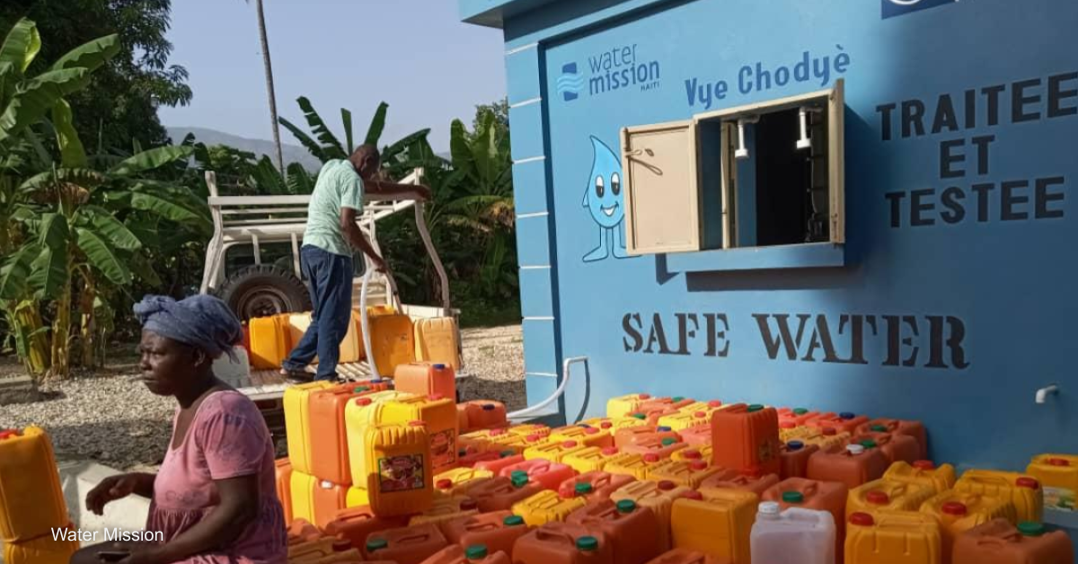 From relief to recovery: Tackling water access in Haiti