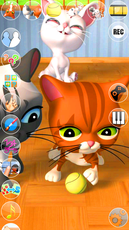 Talking 3 Friends Cats & Bunny- screenshot