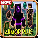 ARMORPLUS Mod MC Pocket Edition icon