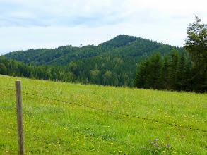 Photo: Blick zum Größenberg (1188m) https://picasaweb.google.com/104806785349940492860/UnternbergGroEnbergRomerweg19Okt2011#