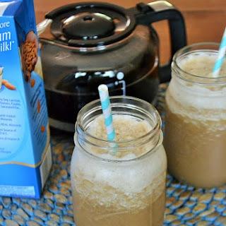 Vanilla Almond Coffee Frappe.