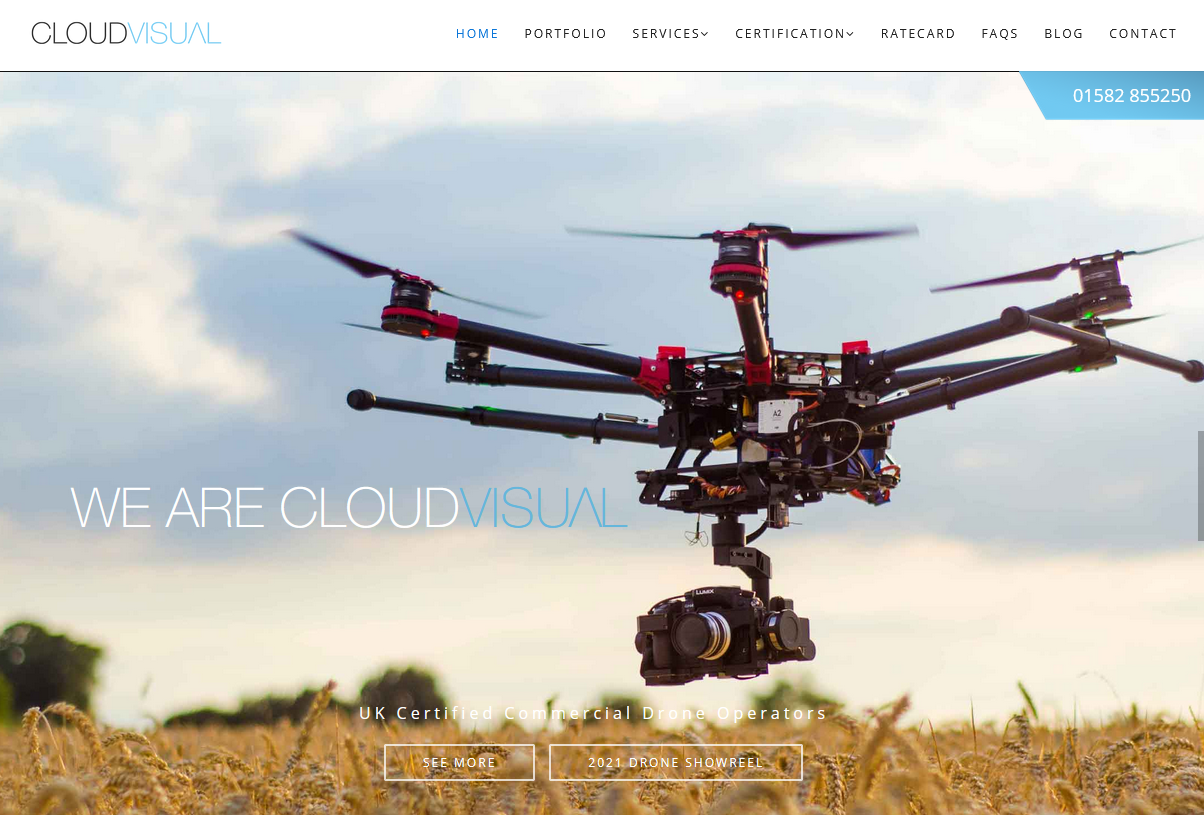 Top Drone Experts - Cloud Visual