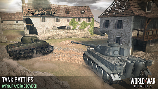 World War Heroes 1.6 MOD (Infinite Premium VIP Account/Unlimited Ammo) Apk + Data 2