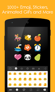 Ginger Keyboard - Emoji, GIFs, Themes & Games- screenshot thumbnail