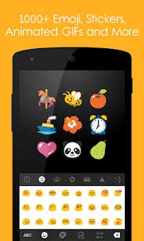 Ginger Keyboard - Emoji, GIFs, Themes and Games