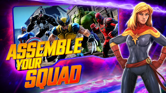 MARVEL Strike Force MOD (Unlimited Energy) 1