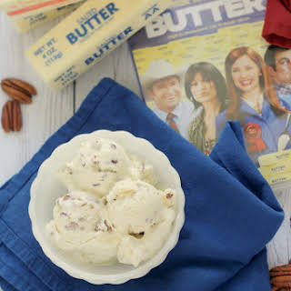 No-Churn Butter Pecan Ice Cream.