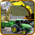 Concrete Excavator Tractor Sim icon