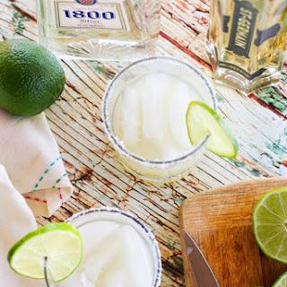 Silver Elderflower Margarita.