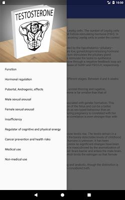 About Testosterone - screenshot