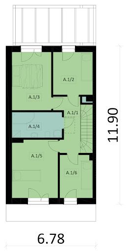 Ka85 S - Rzut piętra