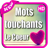 mots touchants le coeur HD
