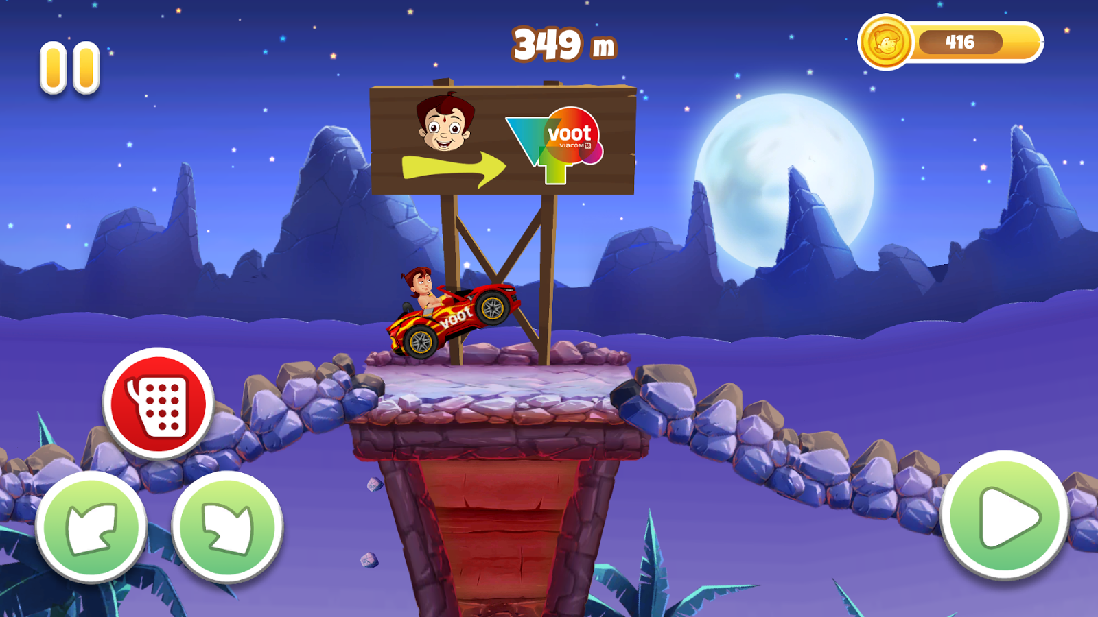Chhota Bheem Speed Racing- screenshot