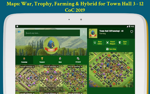 App Maps of Clash of Clans 2019 APK for Windows Phone