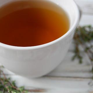 Lemon Thyme Tea