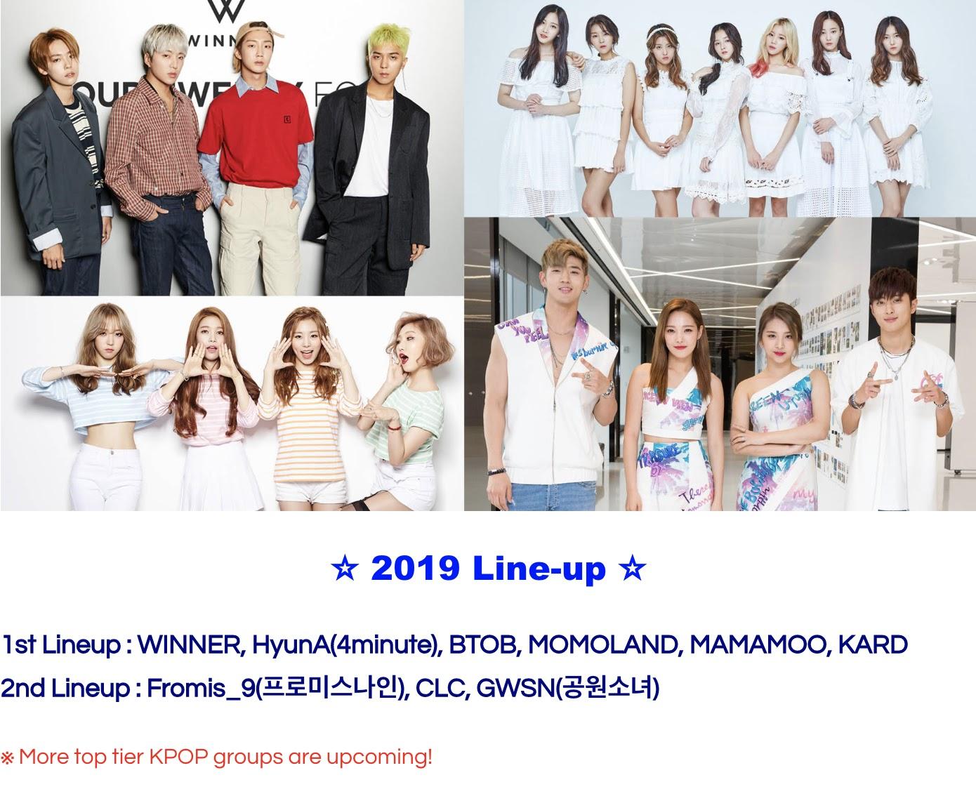 k asian festival lineup 2