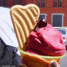 Photo: ♥ BARI - Italy /OH this cherries gelato ! #foodie #travel #ttot #foodphotography #digitalnomad #rtw  +more of my life in Italy > http://CarouLLou.com/rome     #NomadHere ! #digitalnomad #travel #ttot #rtw #travelphotography #foodphotography #foodie #Bari #italy #gelato
