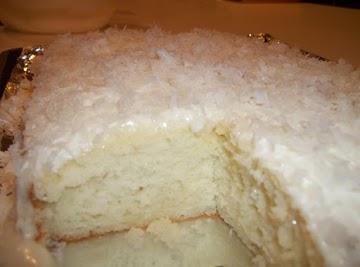 Coconut Cake / Cream Cheese Coconut Frosting Recipe