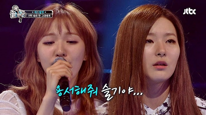 Red Velvet's Wendy ends up in tears after blowing the audience away