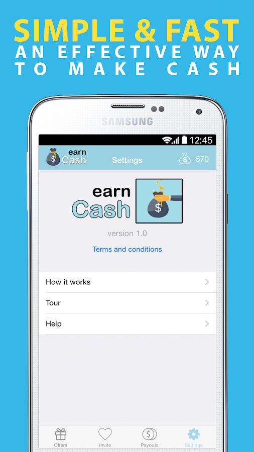 Earn Cash : Make Easy Money- screenshot
