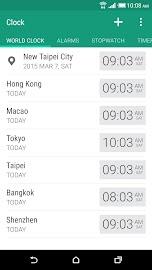HTC Clock Screenshot 1