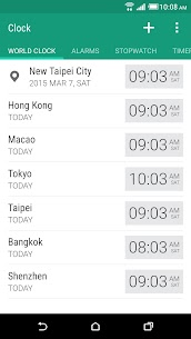 HTC Clock – Mod Android Updated 1