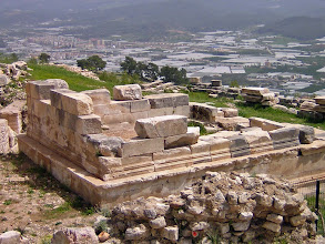 Photo: Rhodiapolis, Monument of Opramoas .......... Het Monument van Opramoas