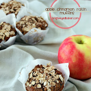 Apple Cinnamon Raisin Muffins.