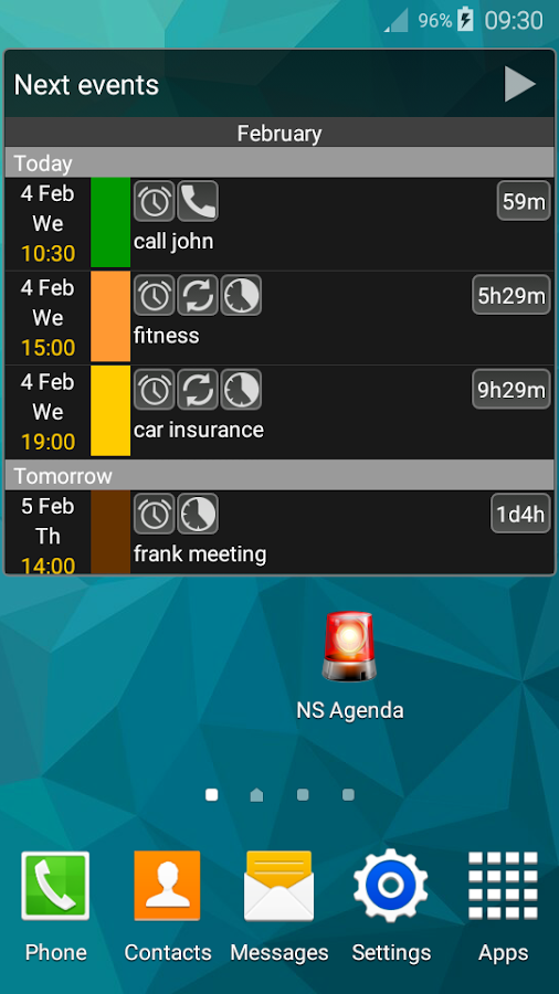 NS Agenda Ltd (Reminder)- screenshot