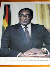 Photo: Robert Mugabe - President of Zimbabwe