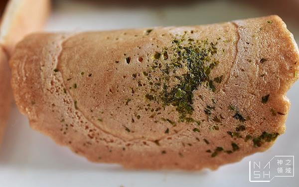 台南名產推薦|連德堂餅家 每人限購兩包的手工煎餅