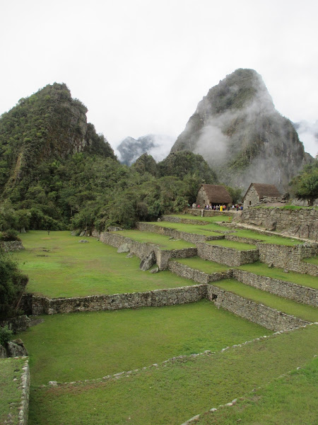Wayna Picchu from Below