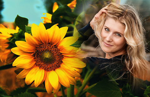 Sunflower Photo Frames - náhled