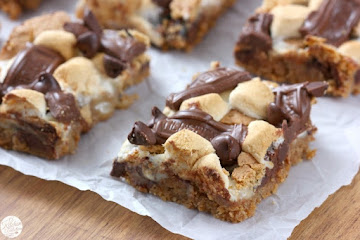 S'mores Seven Layer Bars