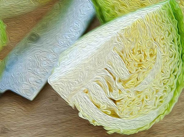 Remove the outer leaves from the cabbage; the inner leaves should be a nice...
