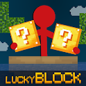Stickman vs Multicraft: Lucky Block icon