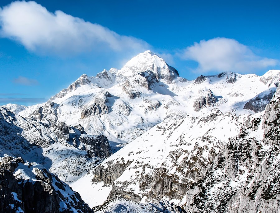 Sunny day in the mountains by Peter Litavsky - Landscapes Mountains & Hills ( #alps #mountain #winter,  )