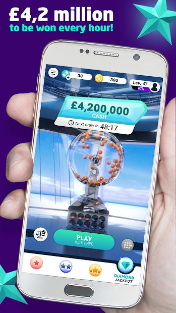 Bravospeed: The Free £4 Million Lottery Android App Screenshot
