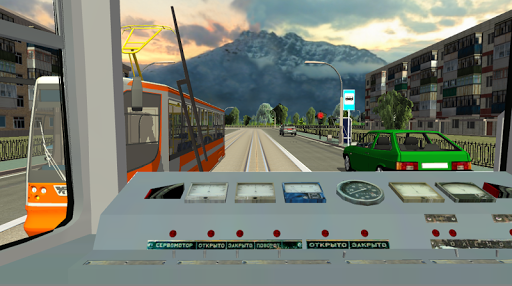 Симулятор Русского Трамвая 3D для планшетов на Android