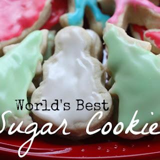 World's Best Sugar Cookie