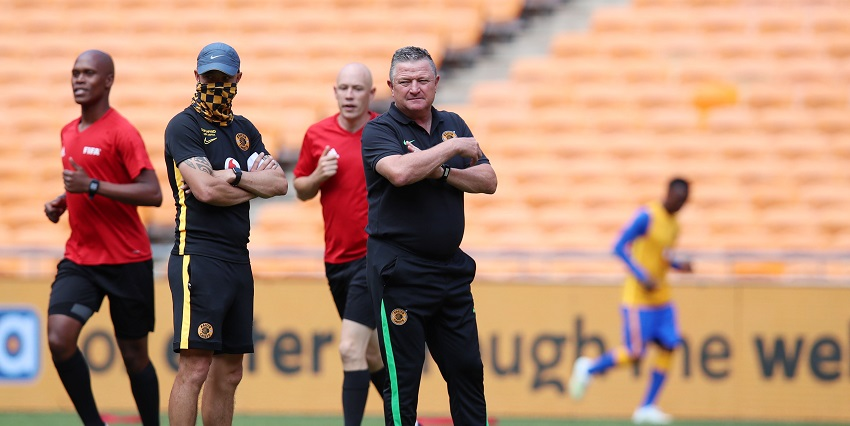 Kaizer Chiefs coach Gavin Hunt raves about young star Njabulo Blom - SowetanLIVE