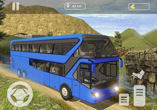 Real Offroad Bus Simulator 2020 Tourist Hill Bus 3.5 screenshots 2
