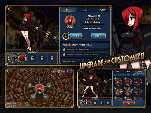 Skullgirls: Fighting RPG apkslow screenshots 16