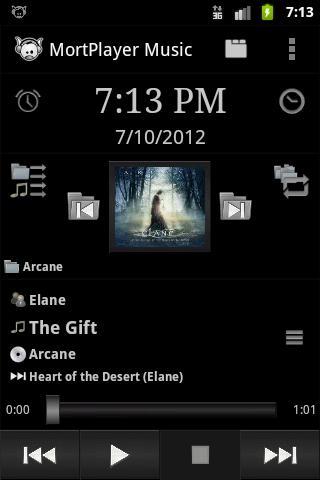 MortPlayer Music (beta) screenshot 3