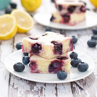 Blueberry Lemon Brownies Recipe