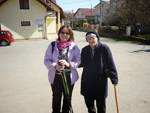 Photo: Danka s tetou Gitkou