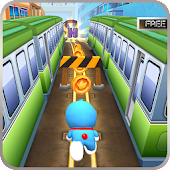 Subway Dora Adventure Rush : Doramon Adventure