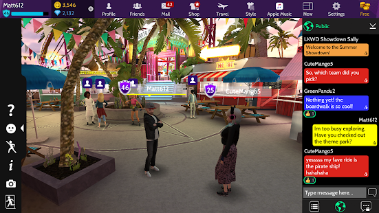 Game Avakin Life - 3D Virtual World APK for Windows Phone