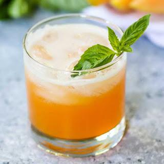 Cantaloupe Basil Coolers.