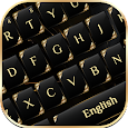 Black Gold Keyboard